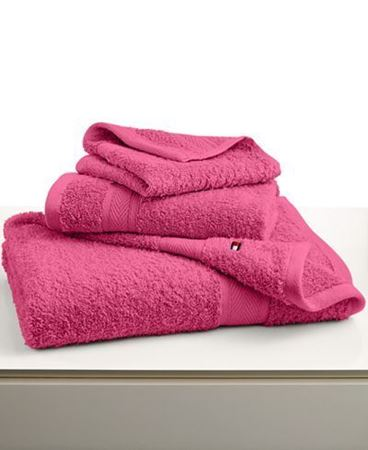 "Picture of Tommy Hilfiger All American 27"" x 52"" Bath Towel- Pink"
