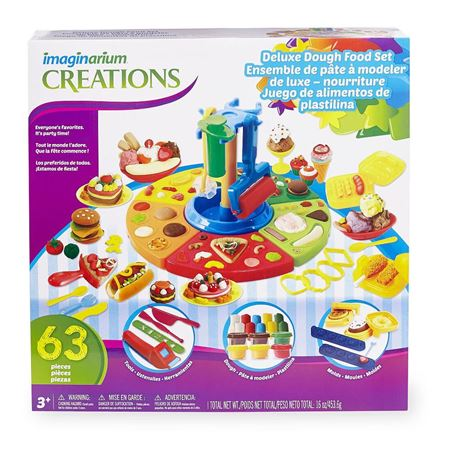 Picture of Imaginarium Deluxe Dough Food Set - 63 Piece