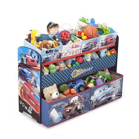 Picture of Disney Pixar Cars Deluxe 9 Bin Toy Organizer