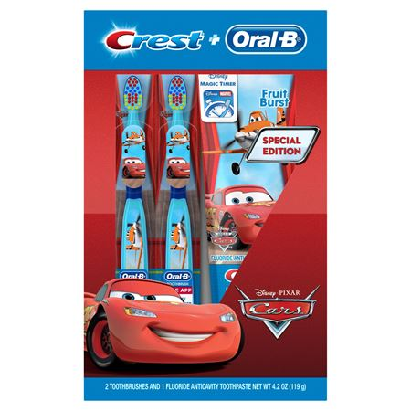 Picture of Crest & Oral-B Pro-Health Jr. CARS Holiday Gift Set