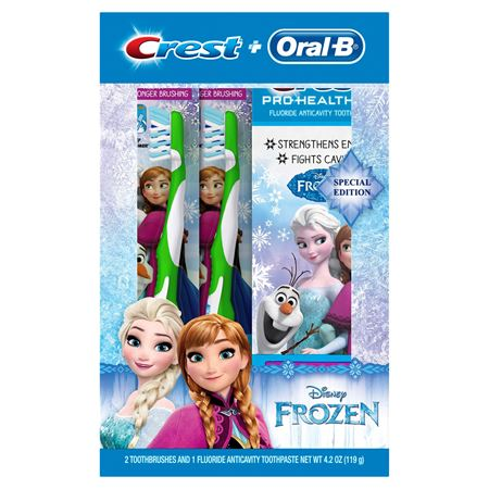 Picture of Crest & Oral-B Pro-Health Jr. Frozen Holiday Gift Set