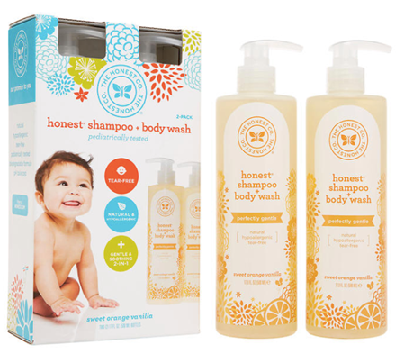 Picture of The Honest Company Shampoo and Body Wash