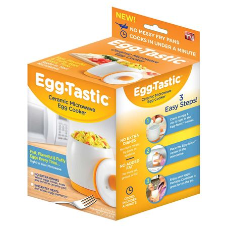 Picture of Egg-Tastic™ Ceramic Microwave Egg Cooker