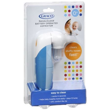 Picture of (By AIr) Graco® NasalClear™ Battery Operated Nasal Aspirator