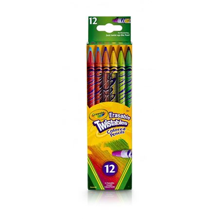 Picture of Erasable Twistables Colored Pencils, 12 Ct