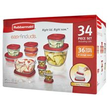 Picture of Rubbermaid Easy Find Lids Food Storage Container Set, 34-piece