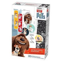 Picture of The Secret Life of Pets Antibacterial Bandages - 20 Count