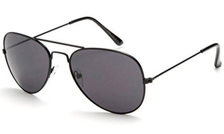 Picture of Stylish Kids' Aviator Sunglasses- Silver