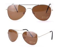 Picture of Stylish Kids' Aviator Sunglasses- Brown