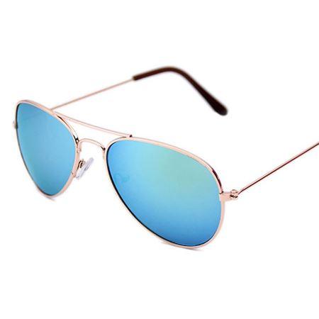 Picture of Stylish Kids' Aviator Sunglasses- Golden