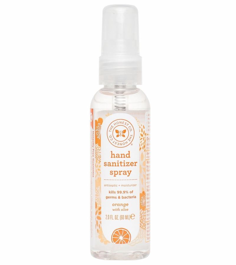 Oh My Outlet The Honest Company Hand Sanitizer Spray Orange 2 Oz