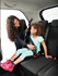 Picture of mifold Grab-n-Go Booster Car Seat in Blue