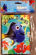 Picture of Disney Finding Dory Large Diary with Lock (45 Sheets)