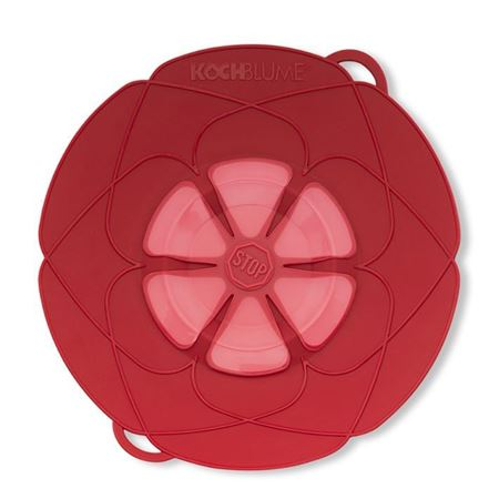 Picture of Kuhn Rikon Large Spill Stopper in Red, 12 in