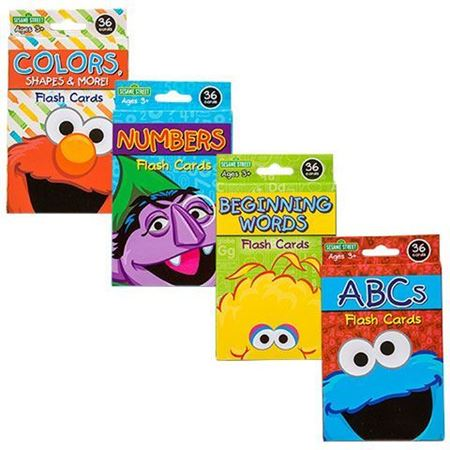Picture of Sesame Street Flash Cards, 36-ct. Packs