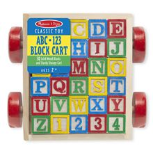 Picture of Classic ABC Block Cart