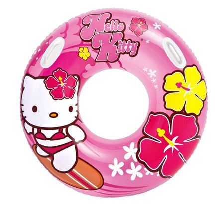 Picture of Intex Hello Kitty Inflatable Kids Floating Tube- 38 inches