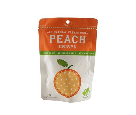 Picture of Nature's Turn Peach All Natural Freeze Dried Crisps