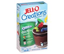 Picture of Jell-O Creations Dessert Kit Oreo Dirt Cups, 10.1 Oz