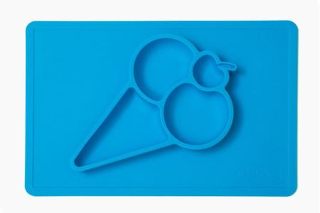 Picture of Silicandy Ice Cream Cone Feeding Placemat (4 colors)