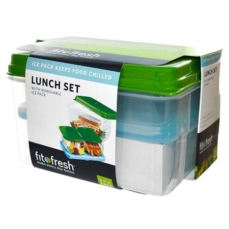 Picture of Lunch on the Go Container Set with Removable Ice Pack