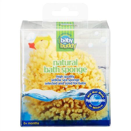 "Picture of Natural Bath Sponge - Yellow Sea 3-4"""
