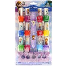 Picture of Frozen 12 Pack Nail Polish with Nail File and Toe Spacers