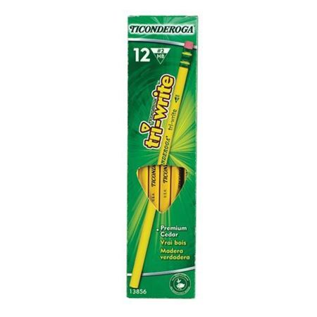 Picture of (By Air) Ticonderoga Tri-Write Standard Size #2