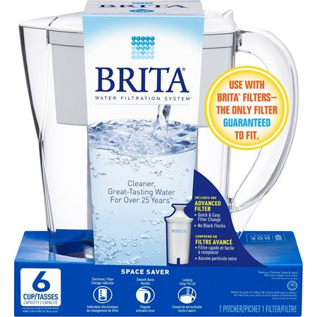 Picture of Brita Space Saver Water Filter Pitcher