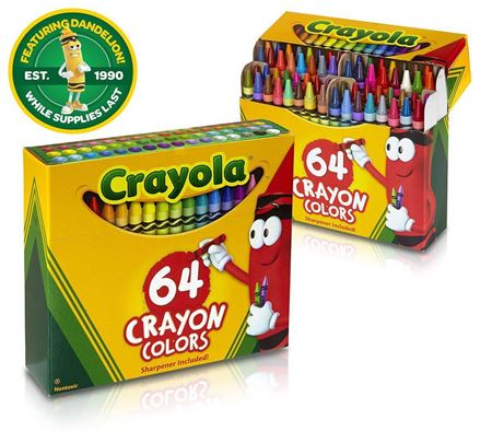 Picture of Crayola Crayons 64 Count