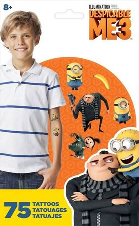 Picture of Despicable Me Standard Tattoo Bag - 75ct
