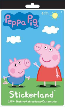 Picture of Peppa Pig Stickerland Pad - 4 pages