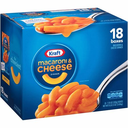 Picture of Kraft mac and cheese- 18 packs