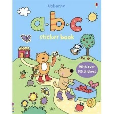 Picture of abc First Sticker Book