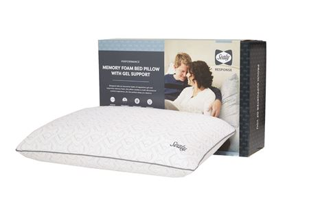 Picture of Sealy memory foam bed pillow with gel support